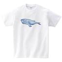 シロナガスクジラTシャツ