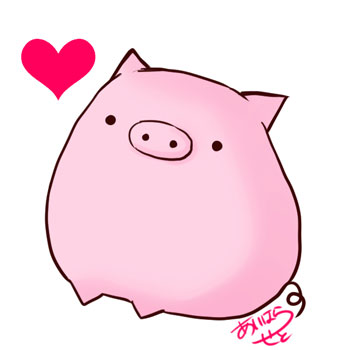 豚イラスト